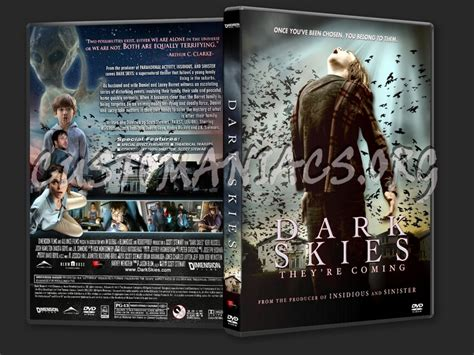 Dark Skies (2013) dvd cover - DVD Covers & Labels by