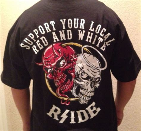 Hells Angels Rside HEAVEN N HELL support T-SHIRT NEW NEW