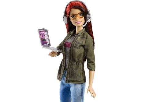 Game developer Barbie is welcome move from bimbo to geek