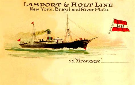 Lamport & Holt Line and their Ships - Page One