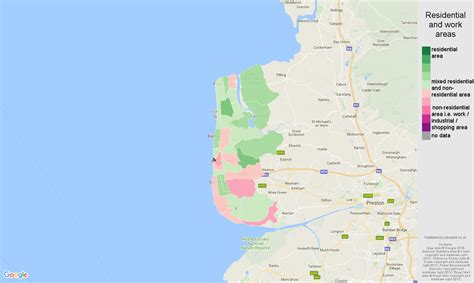 Blackpool population stats in maps and graphs