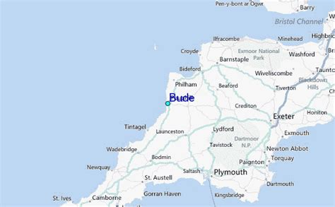 Bude Tide Station Location Guide