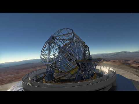 european extremely large telescope sited in chilean