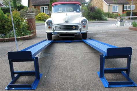 Car lift/ramps - the simple unique patented MR1s for DIY